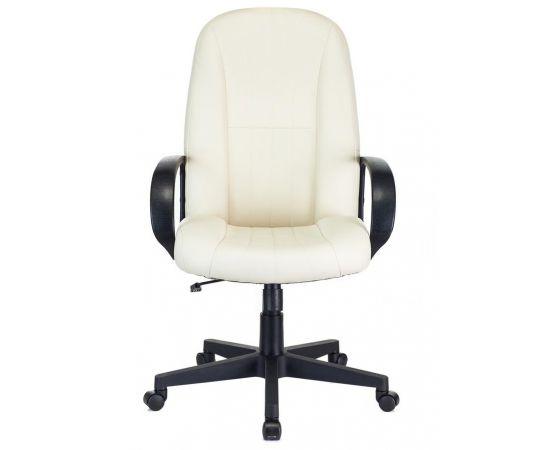 Офисное кресло руководителя Бюрократ T-898/OR-10 молочный фото