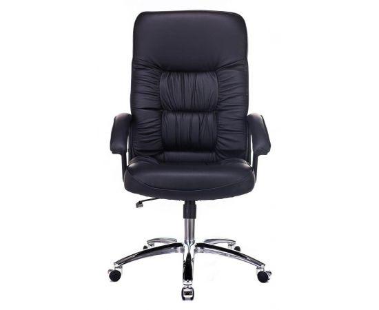 Офисное кресло руководителя Бюрократ T-9908AXSN-AB кожа+хром (664176) фото