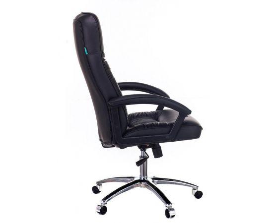 Офисное кресло руководителя Бюрократ T-9908AXSN-AB кожа+хром (664176) фото, изображение 3