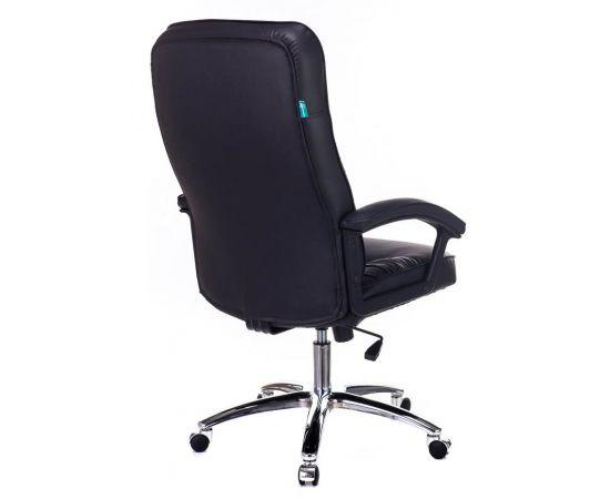 Офисное кресло руководителя Бюрократ T-9908AXSN-AB кожа+хром (664176) фото, изображение 4