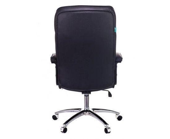 Офисное кресло руководителя Бюрократ T-9908AXSN-AB кожа+хром (664176) фото, изображение 5