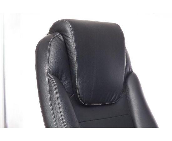 Офисное кресло руководителя Бюрократ T-9923SL/BLACK кожа+хром (1122439) фото, изображение 7