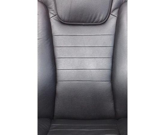 Офисное кресло руководителя Бюрократ T-9923SL/BLACK кожа+хром (1122439) фото, изображение 8