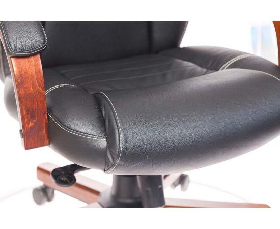 Офисное кресло руководителя Бюрократ T-9923WALNUT/BLACK кожа+дерево (1115302) фото, изображение 12