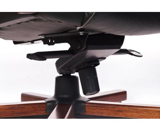 Офисное кресло руководителя Бюрократ T-9923WALNUT/BLACK кожа+дерево (1115302) фото, изображение 7