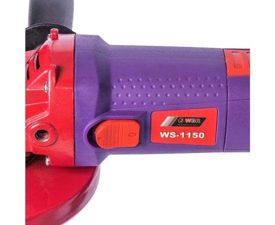 Угловая шлифовальная машина (болгарка)  WBR WS-1150 фото, изображение 2