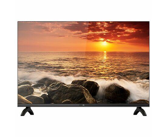 Безрамочный Телевизор 24 дюйма BQ 2404B, черный