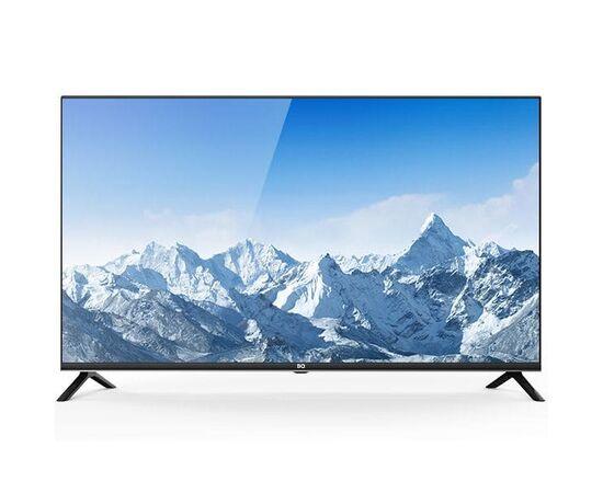Безрамочный Full HD Телевизор 43 дюйма BQ 4302B, черный