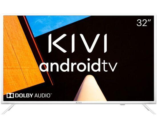 Телевизор Smart 32 дюйма KIVI 32F710KW, Google ATV, белый