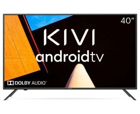 Телевизор Smart 40 дюймов KIVI 40F710KB, Google ATV, черный