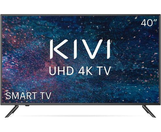 4K UHD Телевизор Smart 40 дюймов KIVI 40U600KD, черный