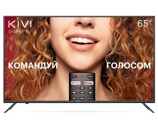 4K UHD Телевизор Smart 65 дюймов KIVI 65U710KB Google ATV