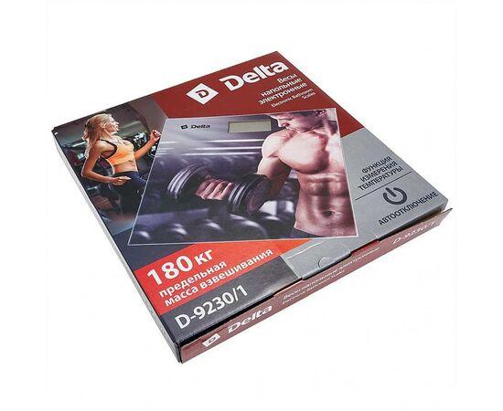 Весы напольные электронные DELTA D-9230/1 Cпорт, изображение 2
