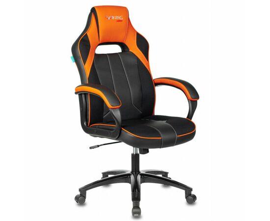 Игровое кресло Бюрократ VIKING 2 AERO Orange, Вариант цвета: black/orange фото, изображение 2