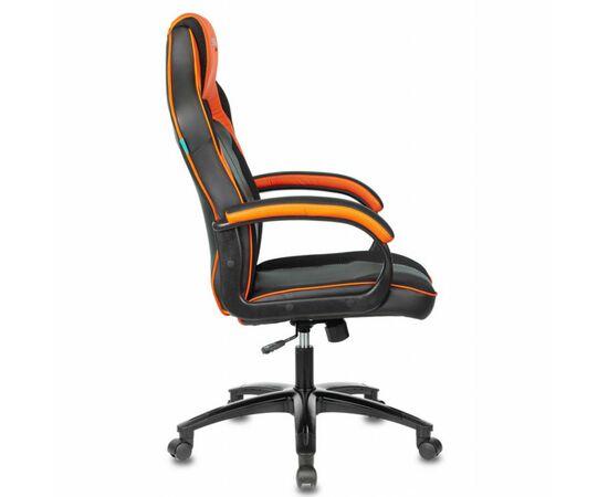 Игровое кресло Бюрократ VIKING 2 AERO Orange, Вариант цвета: black/orange фото, изображение 3
