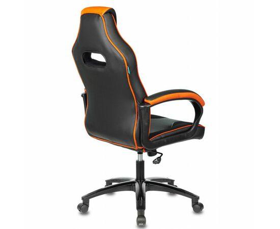 Игровое кресло Бюрократ VIKING 2 AERO Orange, Вариант цвета: black/orange фото, изображение 4