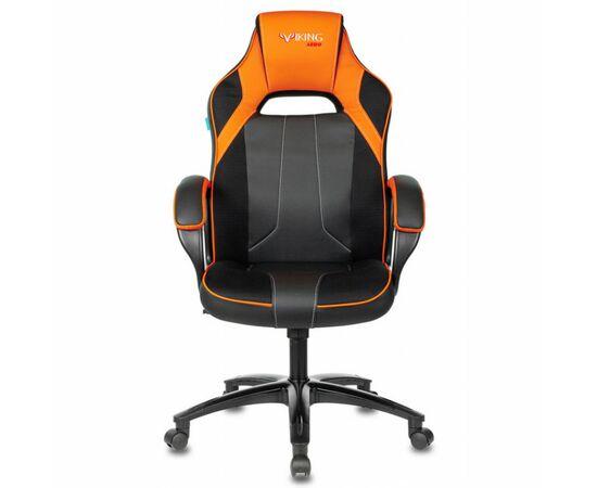 Игровое кресло Бюрократ VIKING 2 AERO Orange, Вариант цвета: black/orange фото