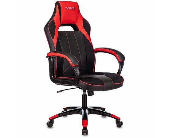 Игровое кресло Бюрократ VIKING 2 AERO Red, Вариант цвета: black/red фото, изображение 2