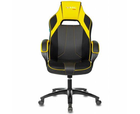Игровое кресло Бюрократ VIKING 2 AERO Yellow, Вариант цвета: black/yellow фото