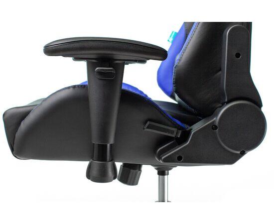 Игровое кресло Бюрократ VIKING 5 AERO Blue, Вариант цвета: black/blue фото, изображение 11