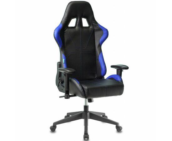 Игровое кресло Бюрократ VIKING 5 AERO Blue, Вариант цвета: black/blue фото, изображение 12
