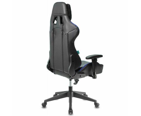 Игровое кресло Бюрократ VIKING 5 AERO Blue, Вариант цвета: black/blue фото, изображение 4