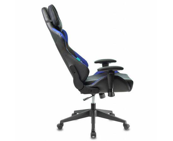 Игровое кресло Бюрократ VIKING 5 AERO Blue, Вариант цвета: black/blue фото, изображение 5