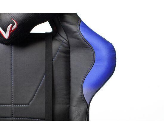Игровое кресло Бюрократ VIKING 5 AERO Blue, Вариант цвета: black/blue фото, изображение 8