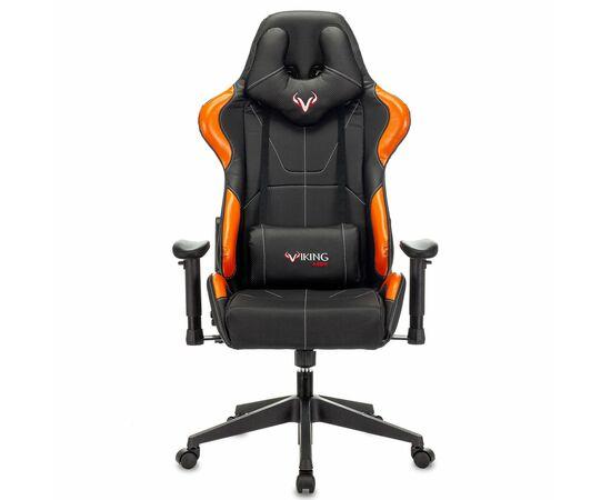 Игровое кресло Бюрократ VIKING 5 AERO Orange, Вариант цвета: black/orange фото