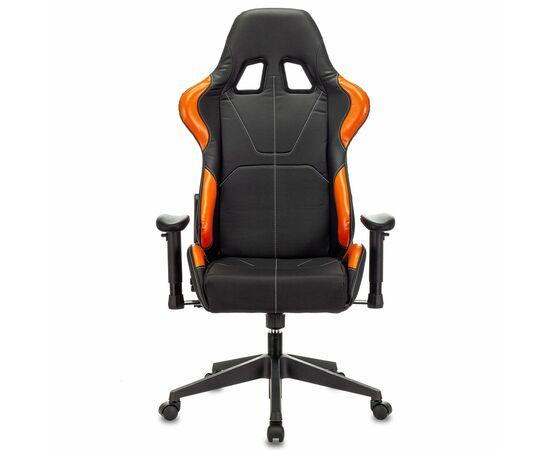 Игровое кресло Бюрократ VIKING 5 AERO Orange, Вариант цвета: black/orange фото, изображение 11
