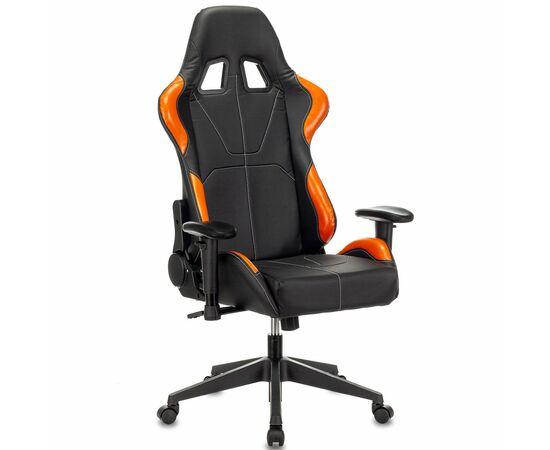 Игровое кресло Бюрократ VIKING 5 AERO Orange, Вариант цвета: black/orange фото, изображение 12