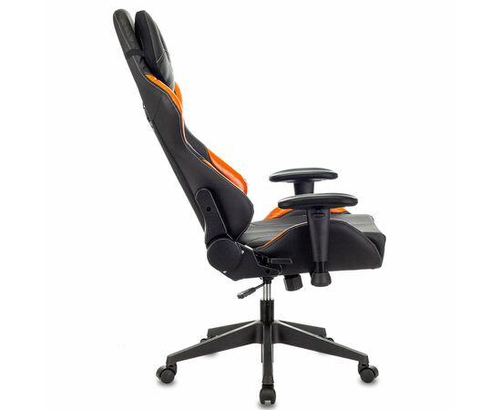 Игровое кресло Бюрократ VIKING 5 AERO Orange, Вариант цвета: black/orange фото, изображение 5