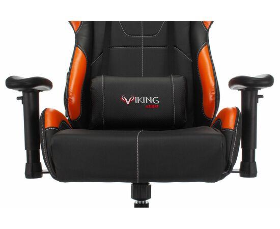 Игровое кресло Бюрократ VIKING 5 AERO Orange, Вариант цвета: black/orange фото, изображение 6