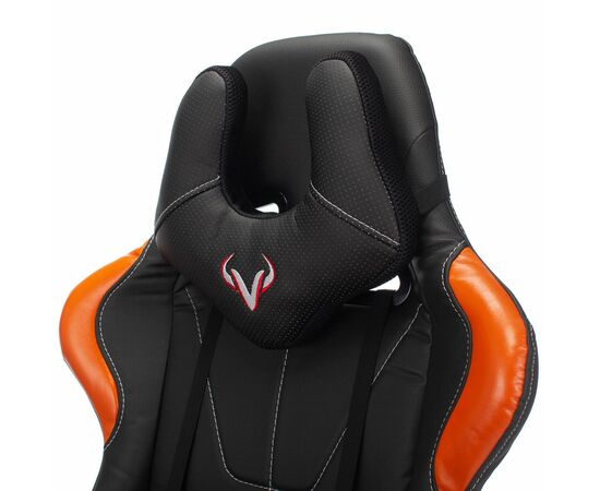 Игровое кресло Бюрократ VIKING 5 AERO Orange, Вариант цвета: black/orange фото, изображение 8