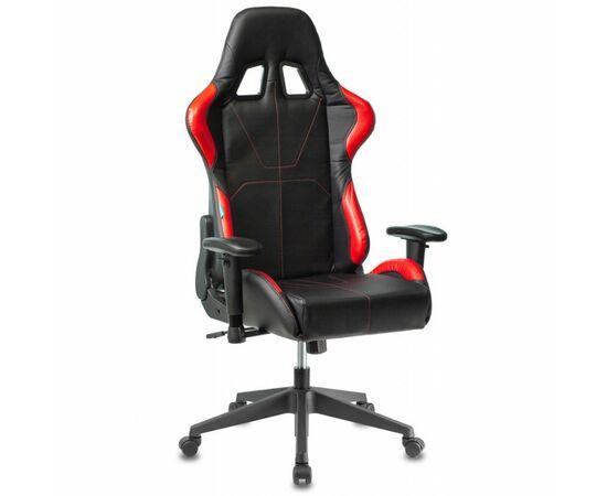 Игровое кресло Бюрократ VIKING 5 AERO Red, Вариант цвета: black/red фото, изображение 12