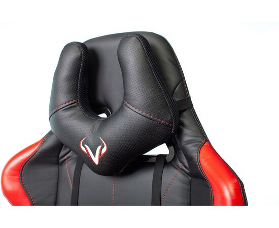 Игровое кресло Бюрократ VIKING 5 AERO Red, Вариант цвета: black/red фото, изображение 9