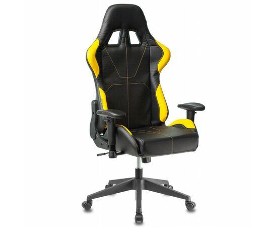 Игровое кресло Бюрократ VIKING 5 AERO Yellow, Вариант цвета: black/yellow фото, изображение 12