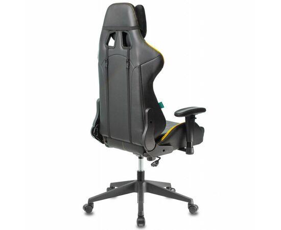 Игровое кресло Бюрократ VIKING 5 AERO Yellow, Вариант цвета: black/yellow фото, изображение 4