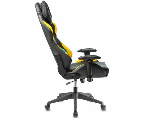 Игровое кресло Бюрократ VIKING 5 AERO Yellow, Вариант цвета: black/yellow фото, изображение 5