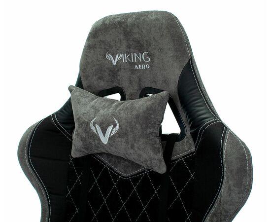 Игровое кресло Бюрократ VIKING 7 KNIGHT Fabric Black, Вариант цвета: black фото, изображение 10