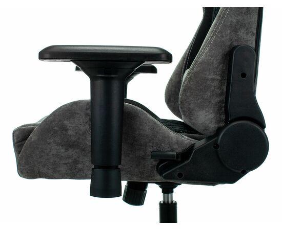 Игровое кресло Бюрократ VIKING 7 KNIGHT Fabric Black, Вариант цвета: black фото, изображение 11