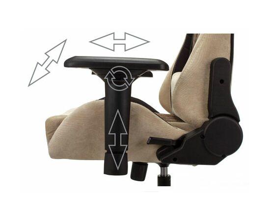 Игровое кресло Бюрократ VIKING 7 KNIGHT Fabric Black, Вариант цвета: black фото, изображение 15