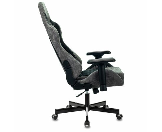 Игровое кресло Бюрократ VIKING 7 KNIGHT Fabric Black, Вариант цвета: black фото, изображение 17