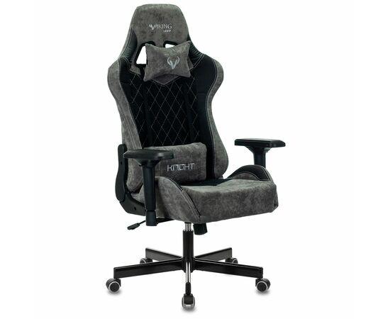 Игровое кресло Бюрократ VIKING 7 KNIGHT Fabric Black, Вариант цвета: black фото, изображение 2
