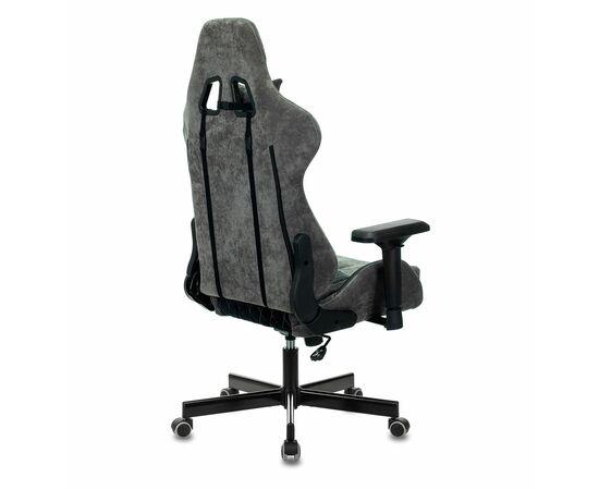 Игровое кресло Бюрократ VIKING 7 KNIGHT Fabric Black, Вариант цвета: black фото, изображение 4