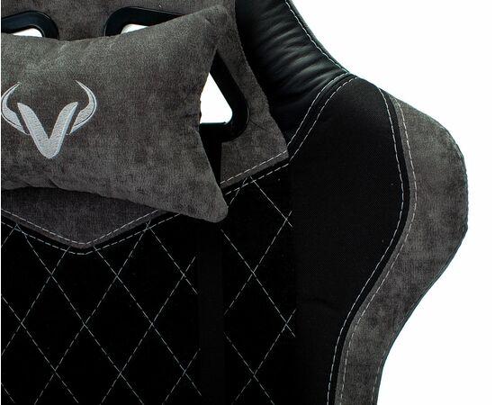 Игровое кресло Бюрократ VIKING 7 KNIGHT Fabric Black, Вариант цвета: black фото, изображение 8