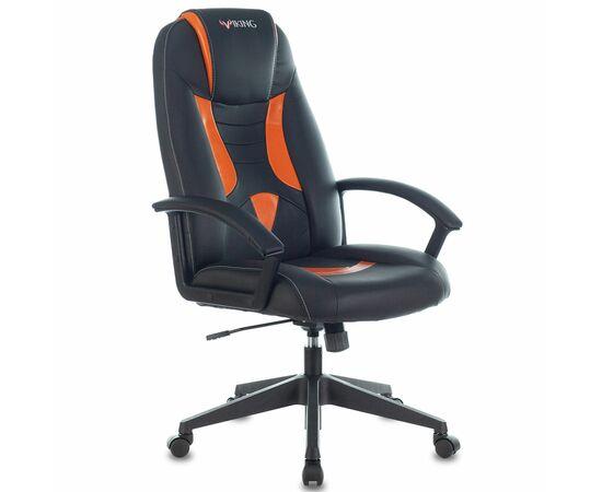 Игровое кресло Бюрократ VIKING-8 Black-Orange, Вариант цвета: black/orange фото, изображение 2