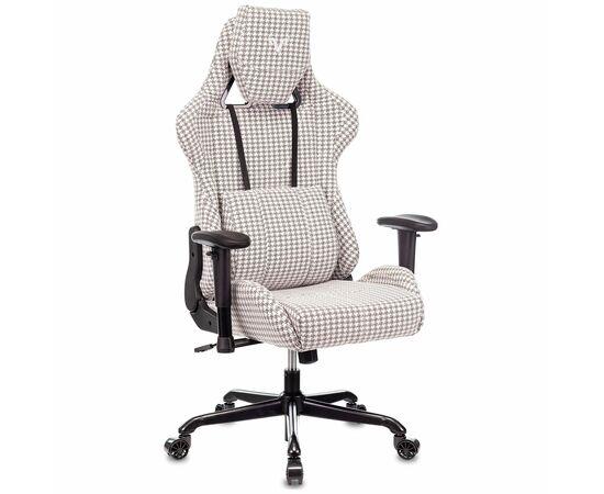 Игровое кресло Бюрократ VIKING LOFT гусиные лапки Morris-1, Вариант цвета: goose фото, изображение 2