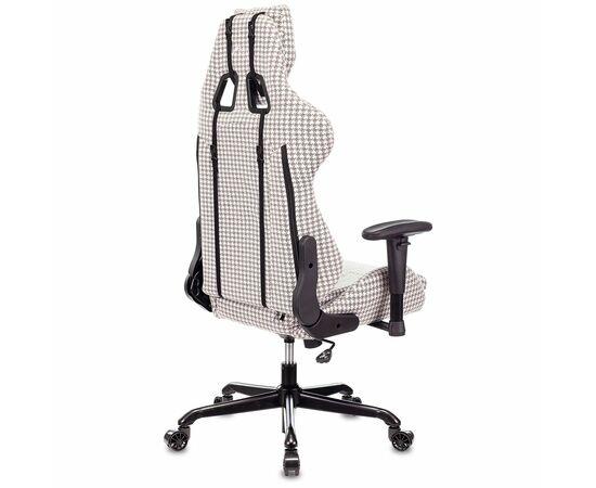 Игровое кресло Бюрократ VIKING LOFT гусиные лапки Morris-1, Вариант цвета: goose фото, изображение 4