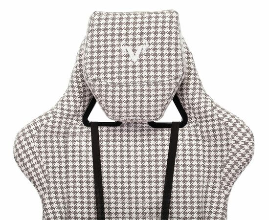 Игровое кресло Бюрократ VIKING LOFT гусиные лапки Morris-1, Вариант цвета: goose фото, изображение 7